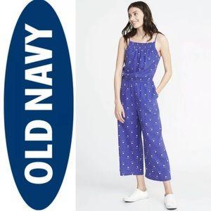 NWOT Old Navy Large Tall Linen Blend Jimpsuit.